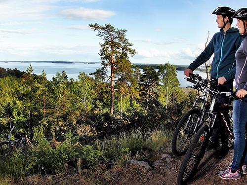 Cykla i Bråvikslandet