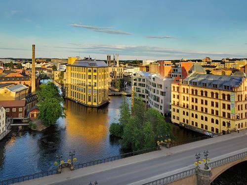 Industrilandskapsguidning och stadsvandring