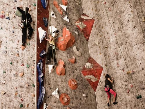 Climbing hall (Klätterhallen)